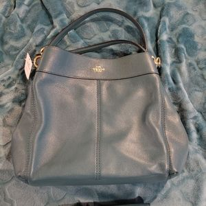 2pc Coach purse and wallet